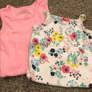 Tank top bodysuits- 2 pc